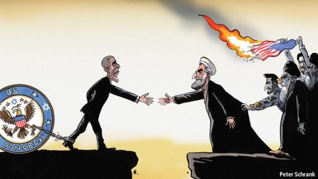 Karrikatur aus 'Times of Israel'