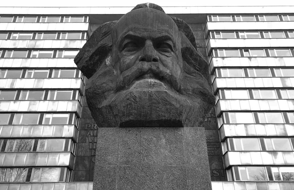 Karl-Marx-Statue in Chemnitz