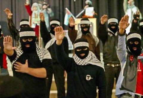 Hamas-Kämpfer, Foto: www.honestlyconcerned.info