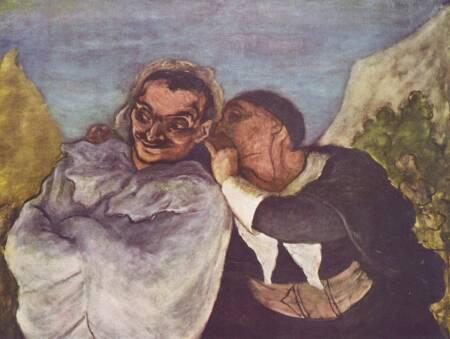 Zeichnung: Honoré_Daumier