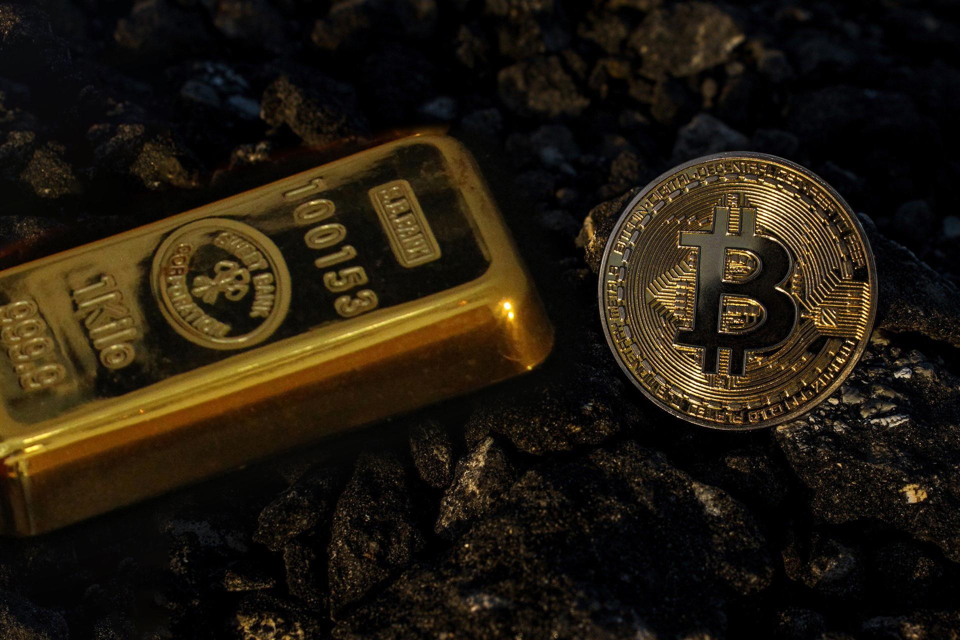 Gold oder Bitcoin?